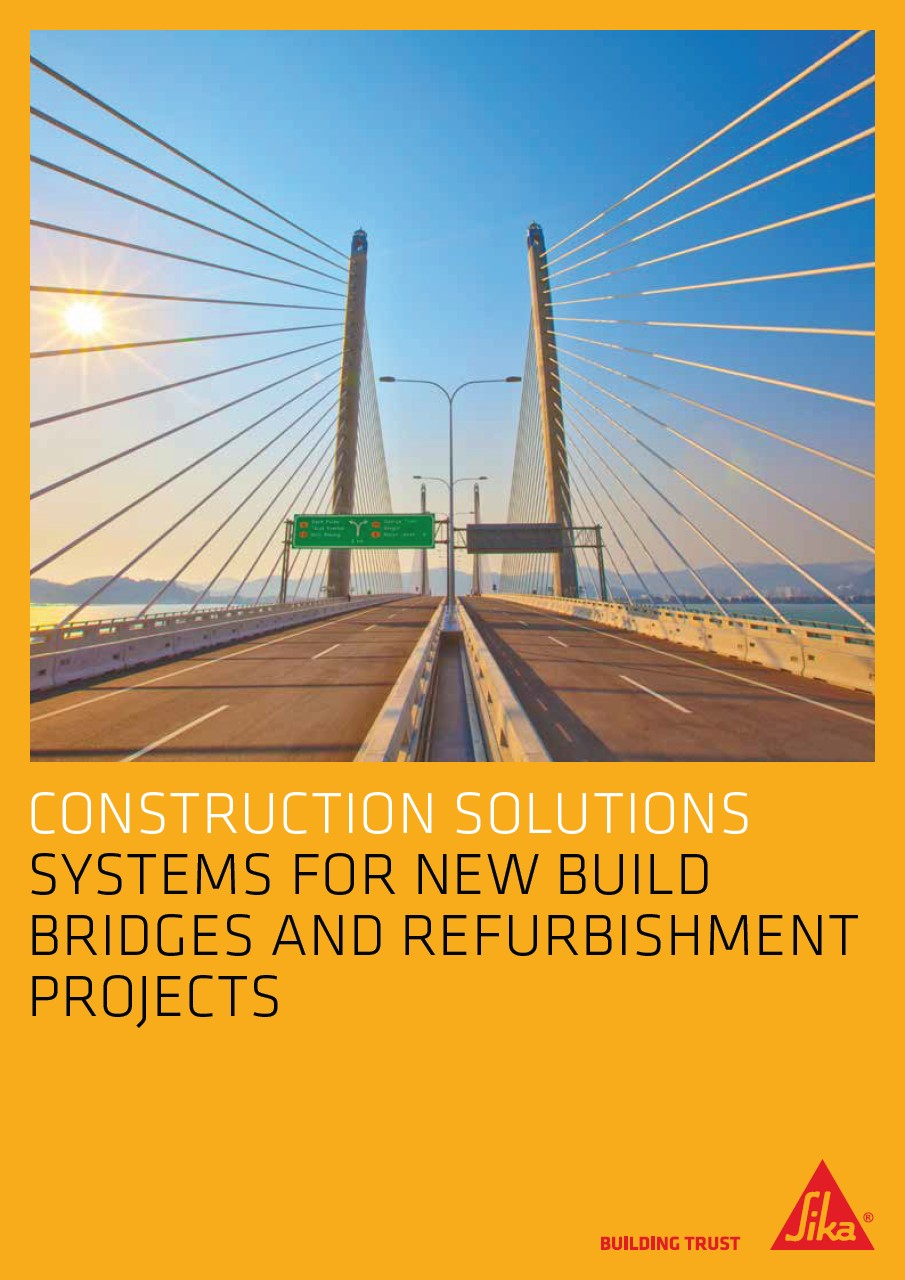 Construction solutions for new build bridges and refurbishment projects