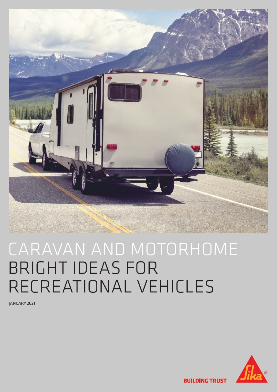 Download Sika's latest Bright Ideas for Caravan and Recreational Vehicles