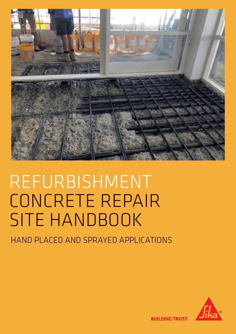 Concrete repair site handbook