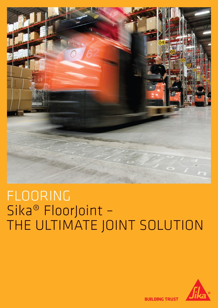 Sika FloorJoint - The Ultimate Joint Solution
