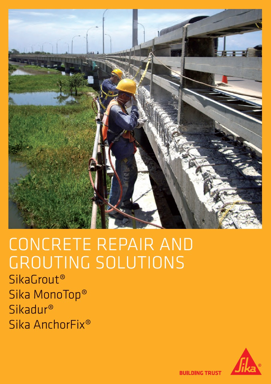 Concrete repair and grouting solutions