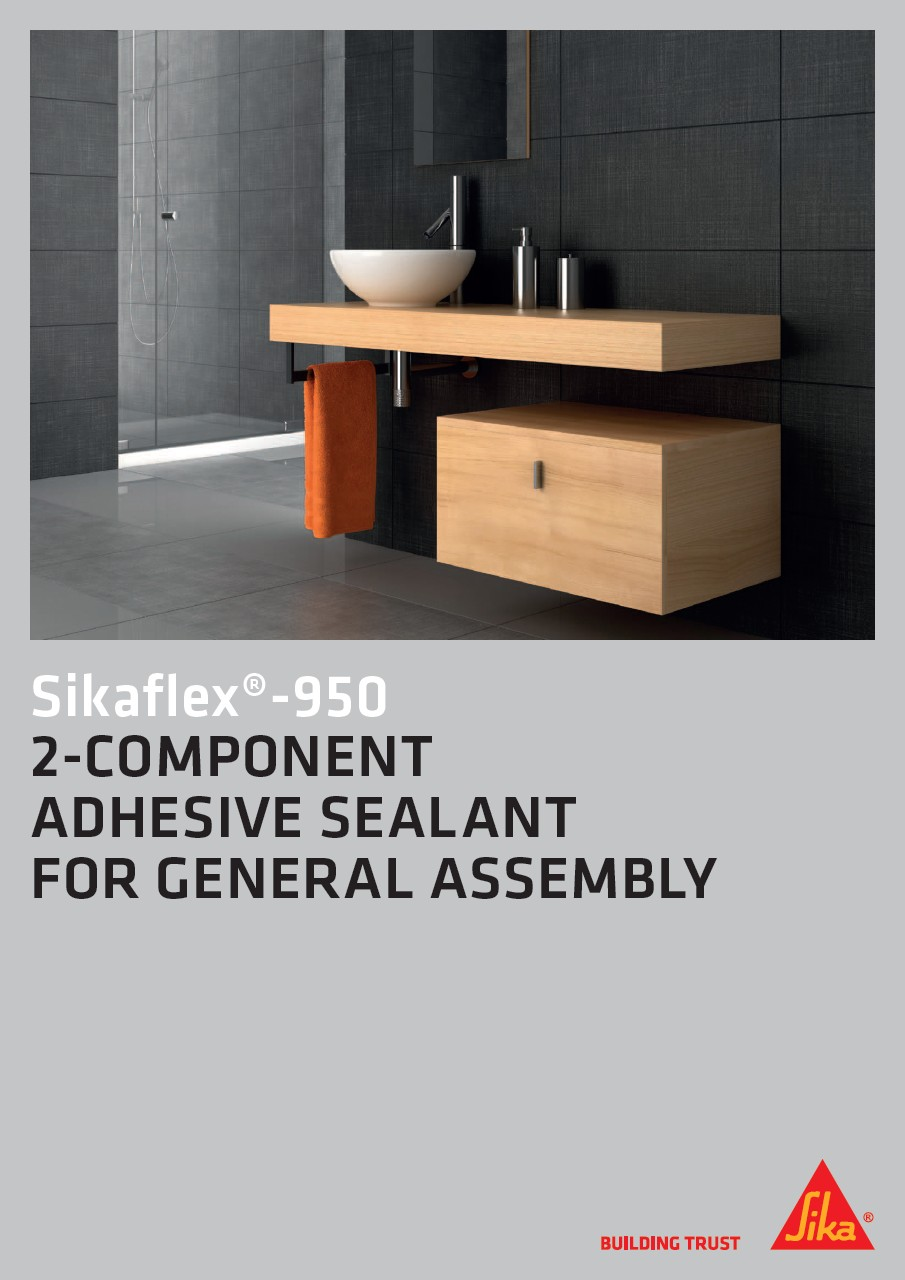 Sikaflex®-950 - 2-Component Adhesive Sealant for General Assembly